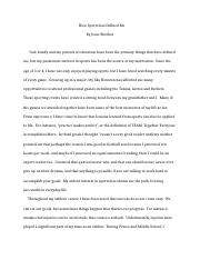 compare and contrast essay jesse skrehot in cold blood and 3 pages essay b revision