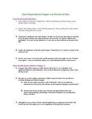 Class Notes Chapter 2