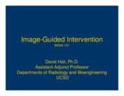 Image guided intervention