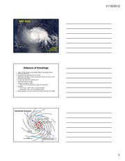 Final Exam Review and Sample Questions on Hurricanes