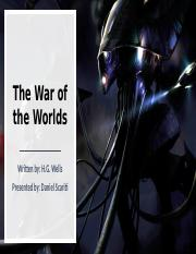 The War of the Worlds.pptx