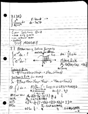MAT 241 - Notes 7.7 Approximate Definite Integrals
