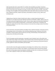 Narrative essays IT Placements