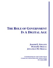 THE ROLE OF GOVERNMENT in Digital Age