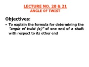 LECTURE _ 20 & 21