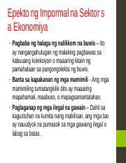 halimbawa ng case study sa ekonomiya