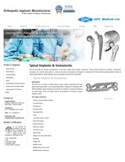 Spinal Implants, Spine Implants, Surgical Implants