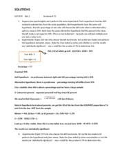 Stat 2 Fall 2014 Homework 13 Solutions