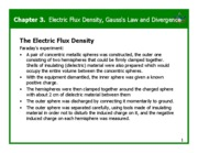 Chapter 3 - Electric Flux Density, Gauss's Law and Divergence