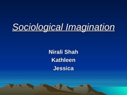 Sociological Imagination, pres