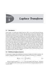 Laplace transform