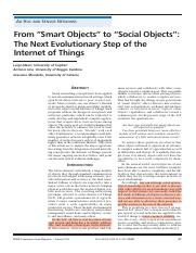 From 'smart objects' to 'social objects' the next evolutionary step of the Internet of Things.pdf