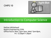 Chapter 2: Introduction to Computer Science (Part One)