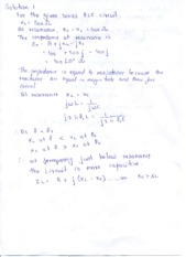 Tutorial Assignment 3 Solutions