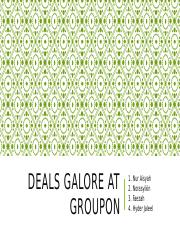 Case Study - Deals Galore at Groupon.pptx