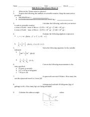 H Physics 1 Quiz Math Review Quiz.doc