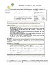 Trabajo de Quimica papers