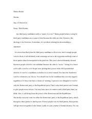 third party essay
