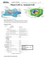 Plant Cell vs Animal Cell - Difference.pdf