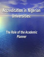 Accreditation workshop for academic planner.ppt