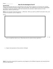 Worksheet for structure comparison