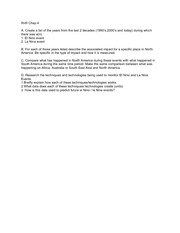 Research and Respond Worksheet Chapter 4