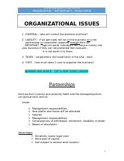 Class Note - Organization and Franchising -- ent 2016 doc.doc