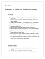 Summary of Reflective & Phyical.docx