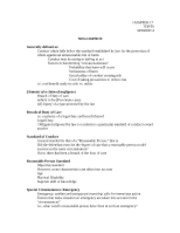 Negligence session 4 student handout