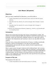 Wave Properties Worksheet-0 - Wave Properties Worksheet 1 ...