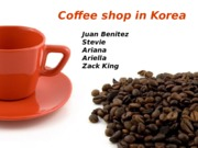 Korean Coffe Shop Updated