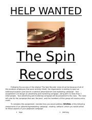4.11 Econ Spin Records Marketing