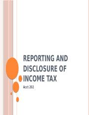 Ch-19 Reporting and disclosure of income tax.pptx
