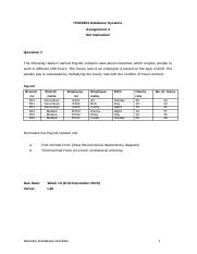 DBS-Assignment 3-Normalization.doc