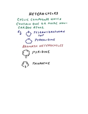 heterocycles