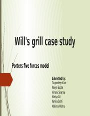 Will's grill case study.pptx