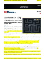 Business Boot Camp Case 3