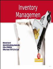 Module 16 Inventory Management.ppt