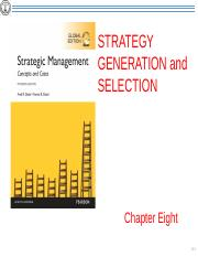Chapter 8 Strategy Generation ans Selection.pptx