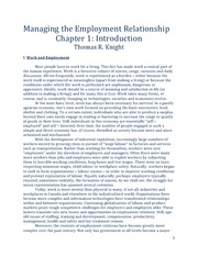 Managing the Employment Relationship - Chapter 1 Text