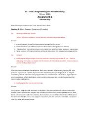 Assignemnt 1 solution key - section 1.pdf