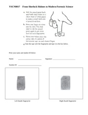 9.3 Fingerprint assignment mock answer