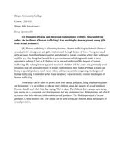 juvinle delinquency essay Cja 204 week 5 individual juvenile delinquency and juvenile crime article - cja 204 week 5 individual juvenile delinquency and juvenile crime article to purchase this.