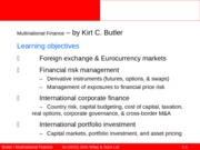 Ed6s 01 An introduction to multinational finance
