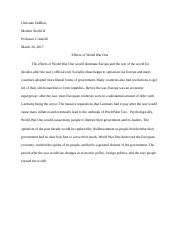 chapter 18 essay