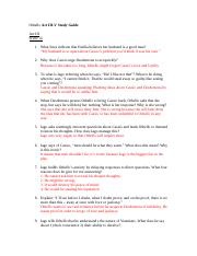 Othello Act III_V Study Guide Answer Key