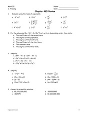 Chpt4&5 Review Sheet