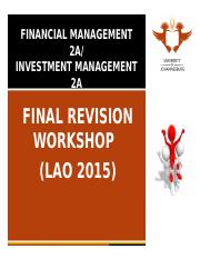BSR2A Revision Workshop LAO 2015(1)