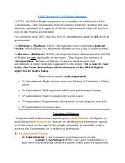 Civil Liberties & Civil Rights Completed Lecture Guide.docx
