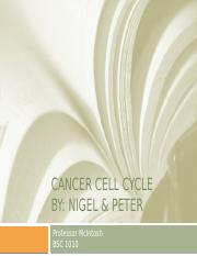 CANCER Cell cycle.pptx